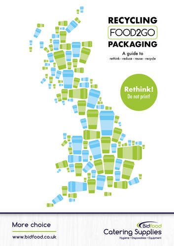 Our new recycling food2go packaging guide!