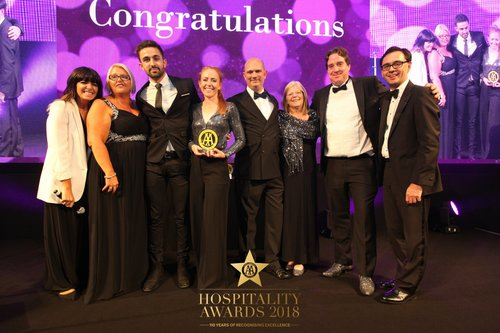 The Brasserie Restaurant, Milton Keynes College named as AA College Restaurant of the Year Award