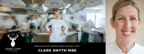 Clare Smyth MBE Joins Game Chef Judging Panel