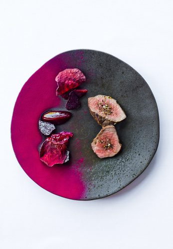 Venison and beetroot profile