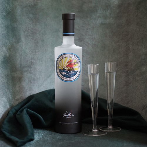 This year, Petrossian and Guillotine Vodka have created an exclusive caviar vodka.