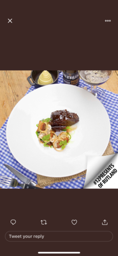 Braised beef cheek, variation on bourguignon bits, served with 50/50 creamed potato