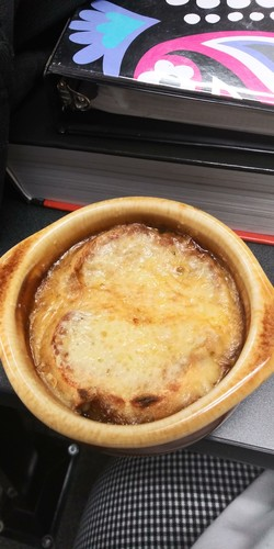Nothing like French Onion soup on a cold day!