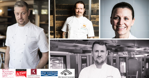 The Staff Canteen Live College Tour returns with another inspiring chef line-up
