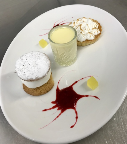 Assiette of lemon