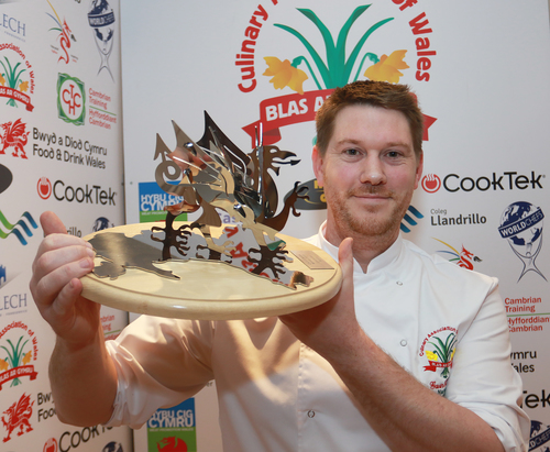 Gavin goes one better to land National Chef of Wales title