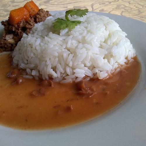 Arroz Habichuelas y Carne:flag_do: