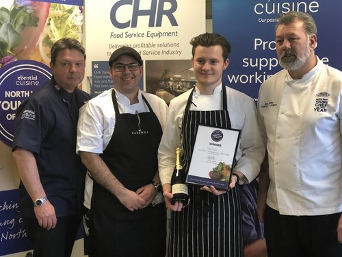 Adam Green reaches the final of North West Young Chef!