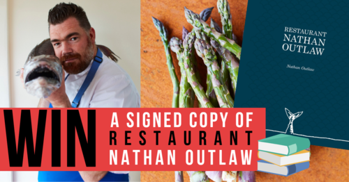 Nathan Outlaw tells The Staff Canteen about his latest book and we have signed copies to give away!