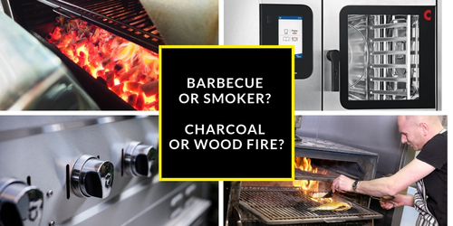 Smoke and flames: Barbecue or smoker? Charcoal or wood fire? How to find the right equipment for your dish