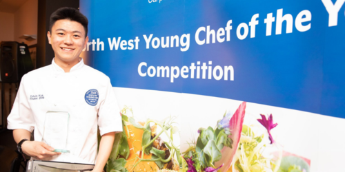 Edwin Kuk from The Art School wins North West Young Chef of the Year 2019