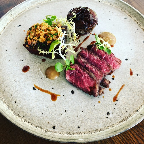 BBQ short rib, oxtail stuffed roscoff onion, onglet steak... #BEEF #TheButchersSocial