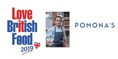 Chef Ruth Hansom of Pomona's, Notting Hill named Love British Food Ambassador