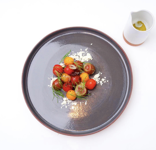 Heirloom Tomato | feta | fennel | whey | green oil
