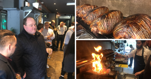 The Staff Canteen Live 2019 Networking Lunch at Jöro