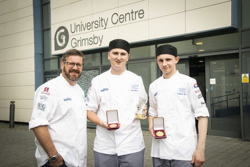 Kendal College students named UK Young Seafood chefs of the Year