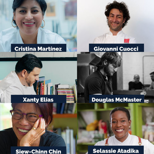 Top ten finalists for the Basque Culinary World Prize 2019 announced