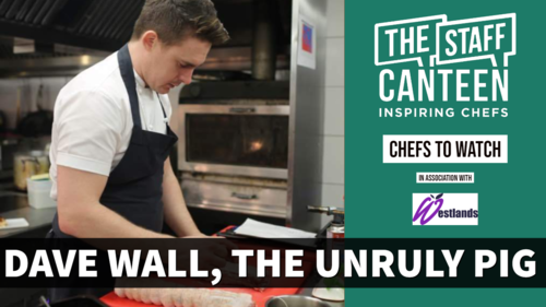 Dave Wall, head chef, The Unruly Pig