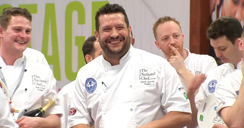 Steve Groves is crowned National Chef of the Year 2020