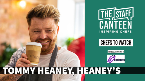 Tommy Heaney, chef owner, Heaney's