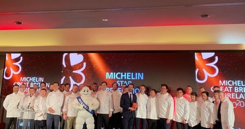 One new three star, four new two stars in Michelin Guide UK 2020