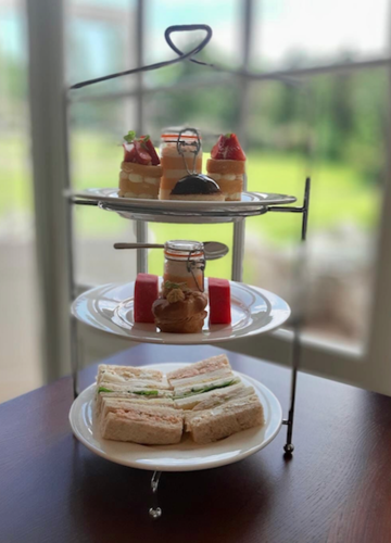 An Exquisite English Afternoon Tea at Hawkstone Hall & Gardens