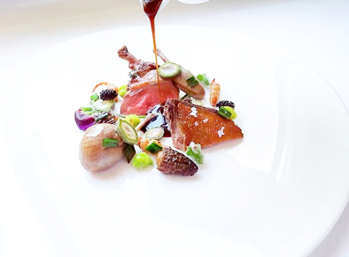 Paine Farms Squab | Morel Mushrooms | Green Almonds