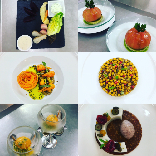 Vegan tasting menu few months back