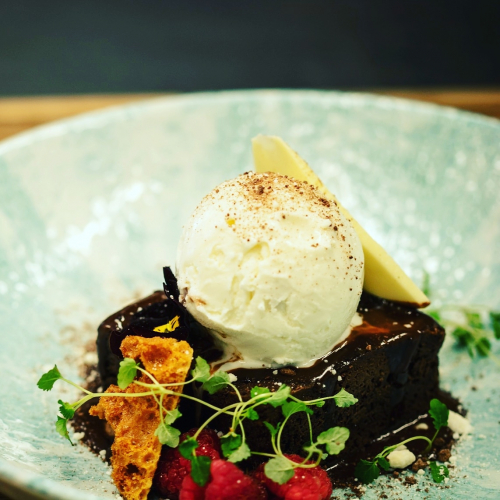 Chocolate Brownie, You Can't Beat it. Made for this Weather & Lockdown