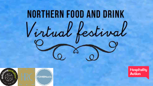 The northern food and drink virtual festival happening on the 24th and 25th of May chef demos, masterclasses talks from industry professionals and trying to support our food and drink industry we are also raising money for hospitality action