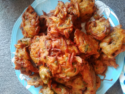 Home made pakodaa