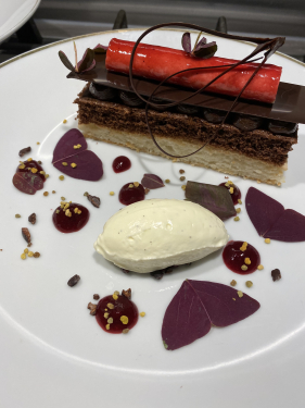 Cherry and Almond Delice