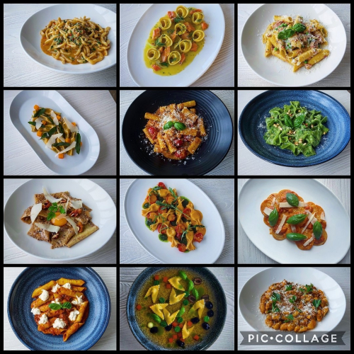 Some of our handmade pasta dishes from 2020 at Sienna's restaurant. Stay tuned for more pasta adventures in 2021! Happy new year to all our great customers 🥳
