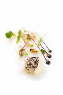 Cod fish / fennel / condiments