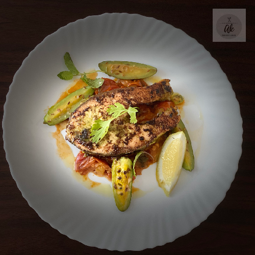 Indian spiced salmon recipe