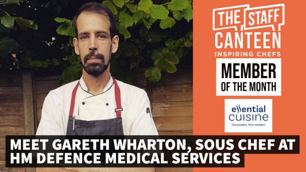 Member of the month October 2019: Gareth Wharton