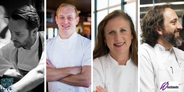 Jason Atherton, Paul Walsh, Luke Holder and Angela Hartnett complete The Staff Canteen Live 2020 line-up at HRC