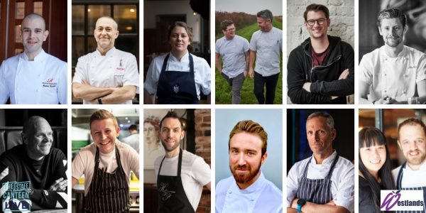The Staff Canteen Live 2020: more chefs announced for the line-up at HRC