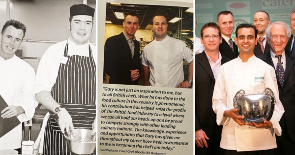 A tribute to Gary Rhodes, 'a true British chef'