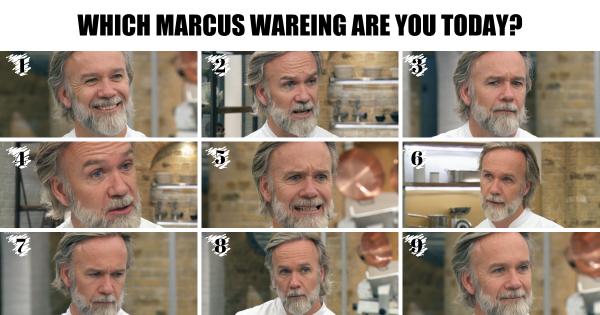 The many face of Marcus Wareing - Our favourites from MasterChef: The Professionals 2019