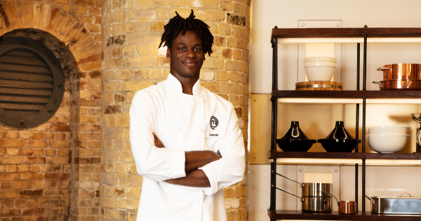 'I have the potential to do some damage in this industry!' Exose Grant Lopo-Ndinga, MasterChef: The Professionals 2019