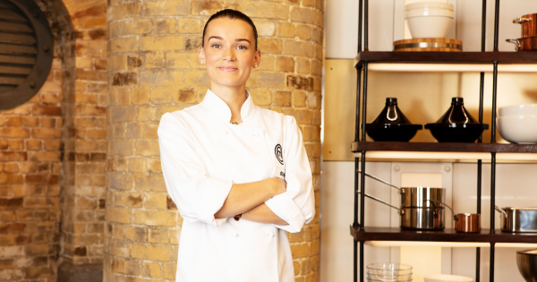 'This will be the biggest year of my career so far.' Olivia Burt, MasterChef: The Professionals 2019