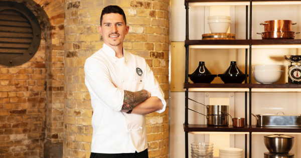 'Getting to the final is not something I ever believed I could do.' Stu Deeley, MasterChef: The Professionals 2019