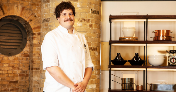 'My biggest food influences were my family.' Yann Florio, MasterChef: The Professionals 2019