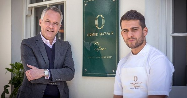 Sofian Msetfi replaces Kerth Gumbs as executive chef of Ormer Mayfair