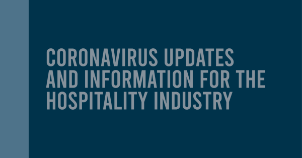 Everything you need to know about the coronavirus and its effects on the hospitality industry