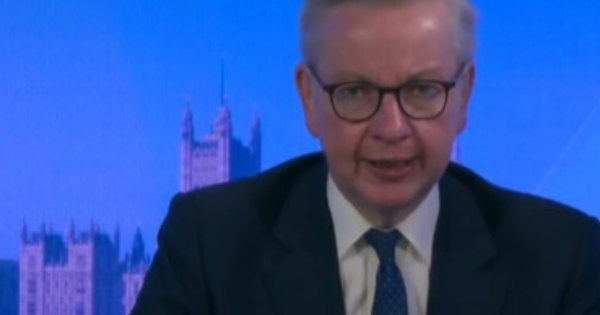 Michael Gove says the government is 'exploring' how to open pubs, restaurants and bars 'in a safe way'