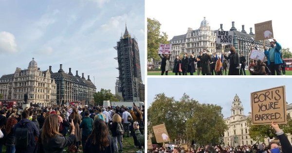 Coronavirus: Protests against restrictions 'London-centric,' 'deluded' and 'fucking embarrassing'