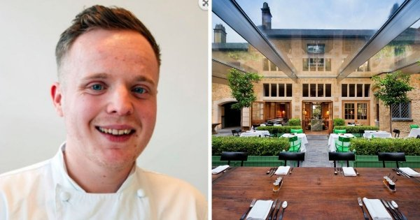 Ben Champkin takes the helm at The Newt in Somerset's hotel restaurant, The Botanical Rooms