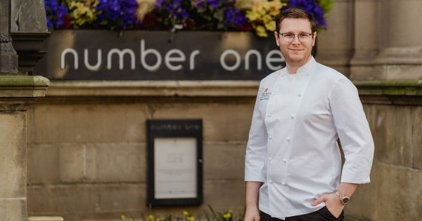 Mathew Sherry named head chef of Michelin-starred Number One at The Balmoral